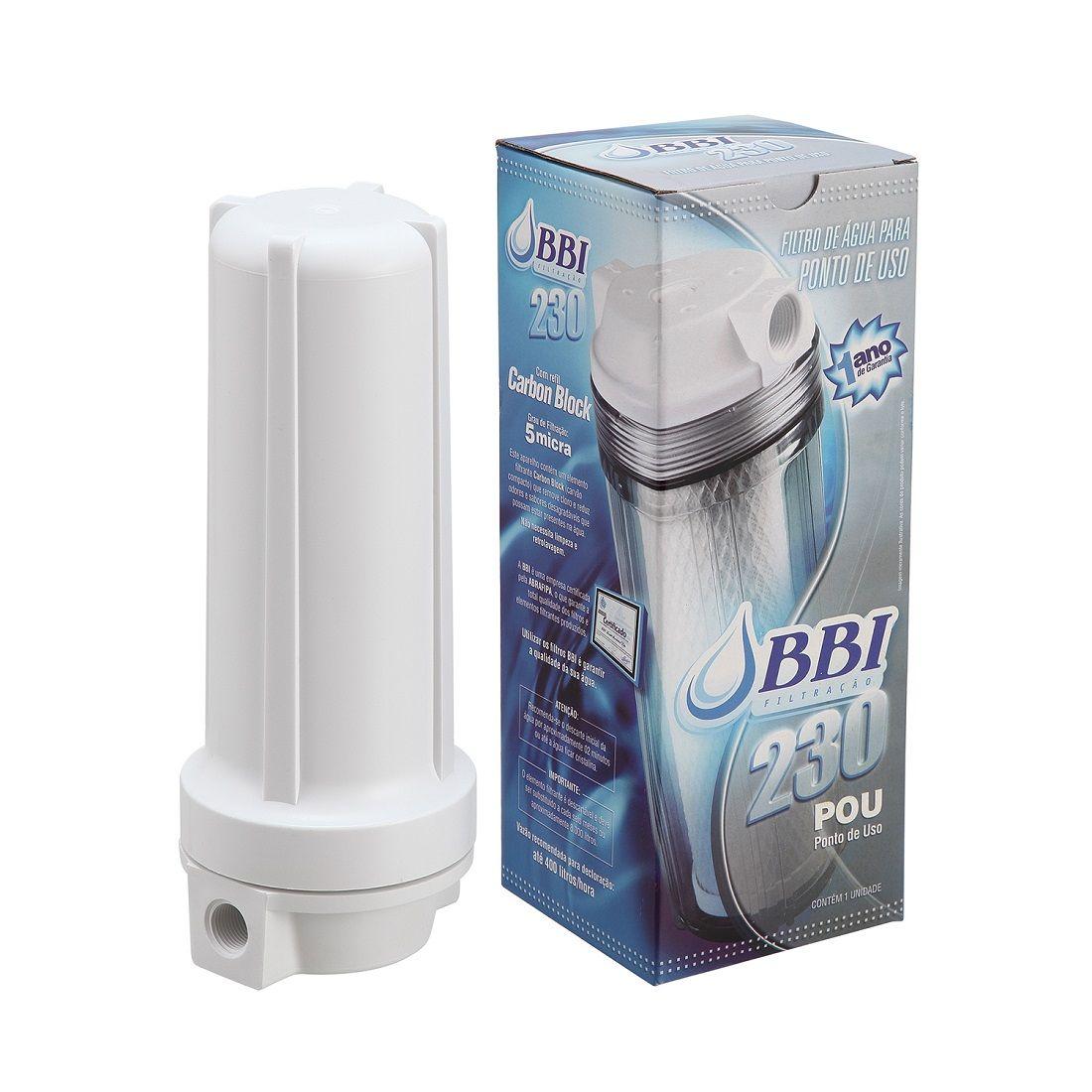 Filtro de agua Branco Ponto de Uso Br F230POU/BR BBI