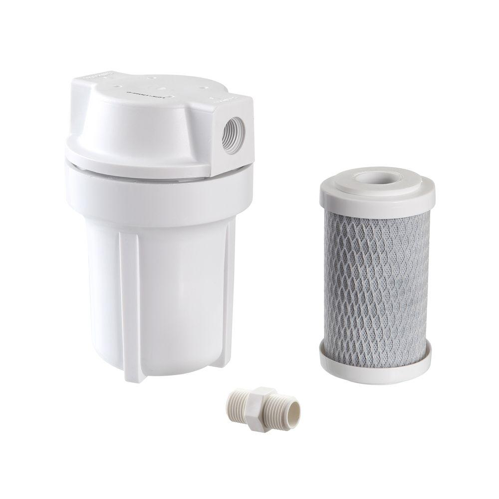 """Filtro para Chuveiro e Ducha BBI SHOWER 125BR Branco 5""""  - SUPERFILTER"""