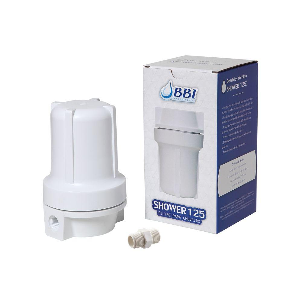 Filtro para chuveiro SHOWER125BR Branco 5