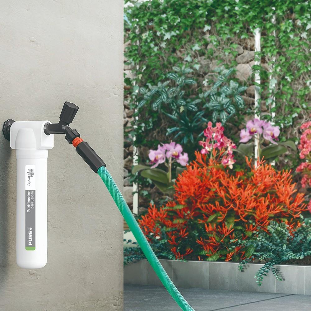 Filtro Purificador de água para Jardim Planeta Água Pure9 Jardim