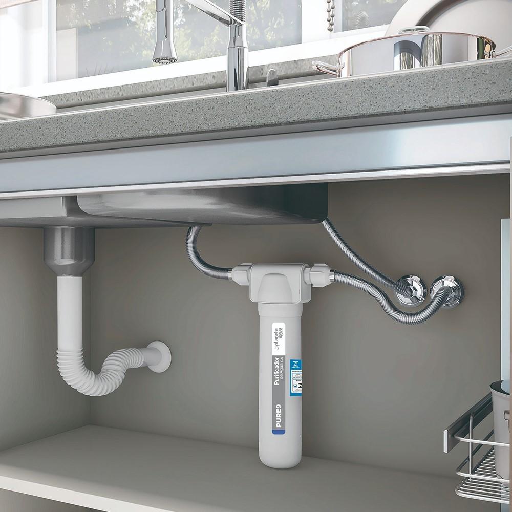 Filtro Purificador de Água Planeta Água Pure9 Reduz o Cloro