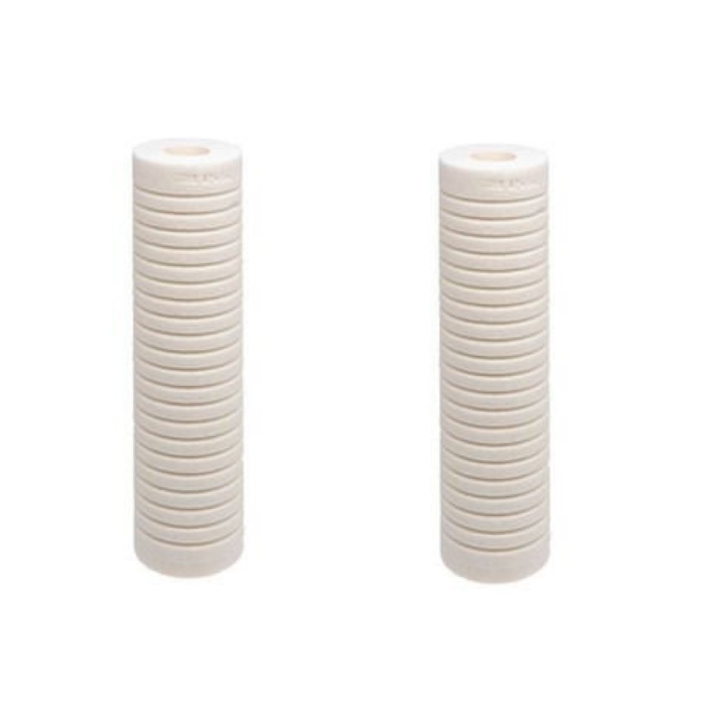 Kit 2 Refil Filtro Cartucho Polipropileno Ranhurado 3m Aqualar PP111H/C Ha701002487  - SUPERFILTER