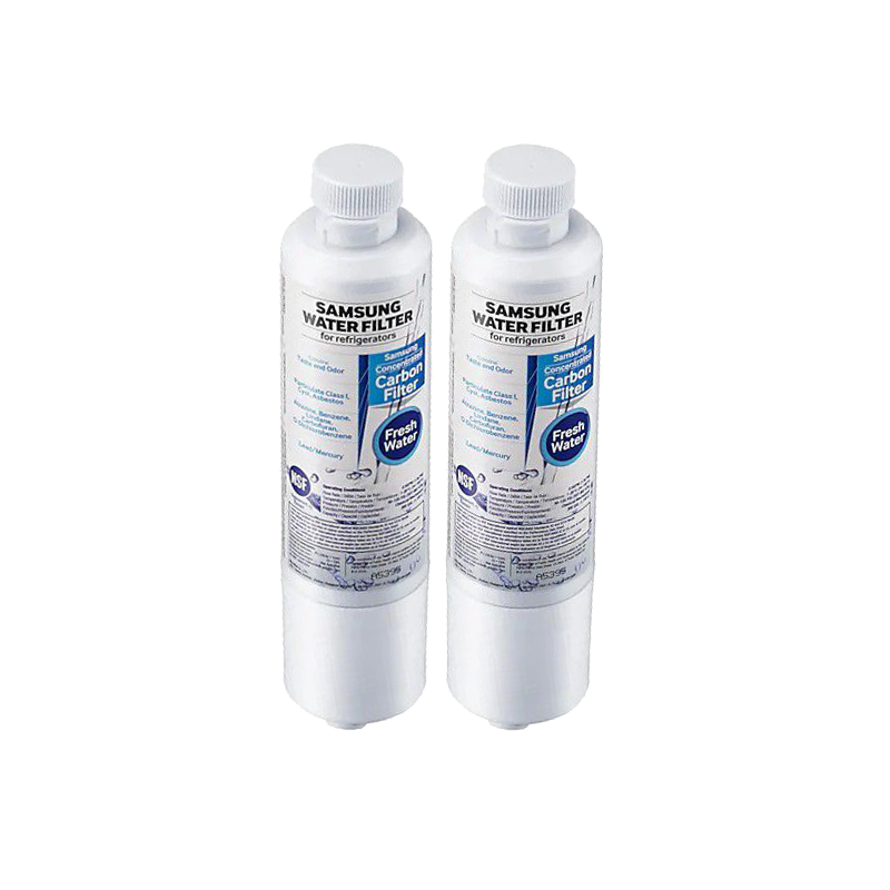 Kit 2 Unidades Filtro Refil Interno Samsung para Geladeira Refrigerador Side By Side HAF-CIN/EXP Original