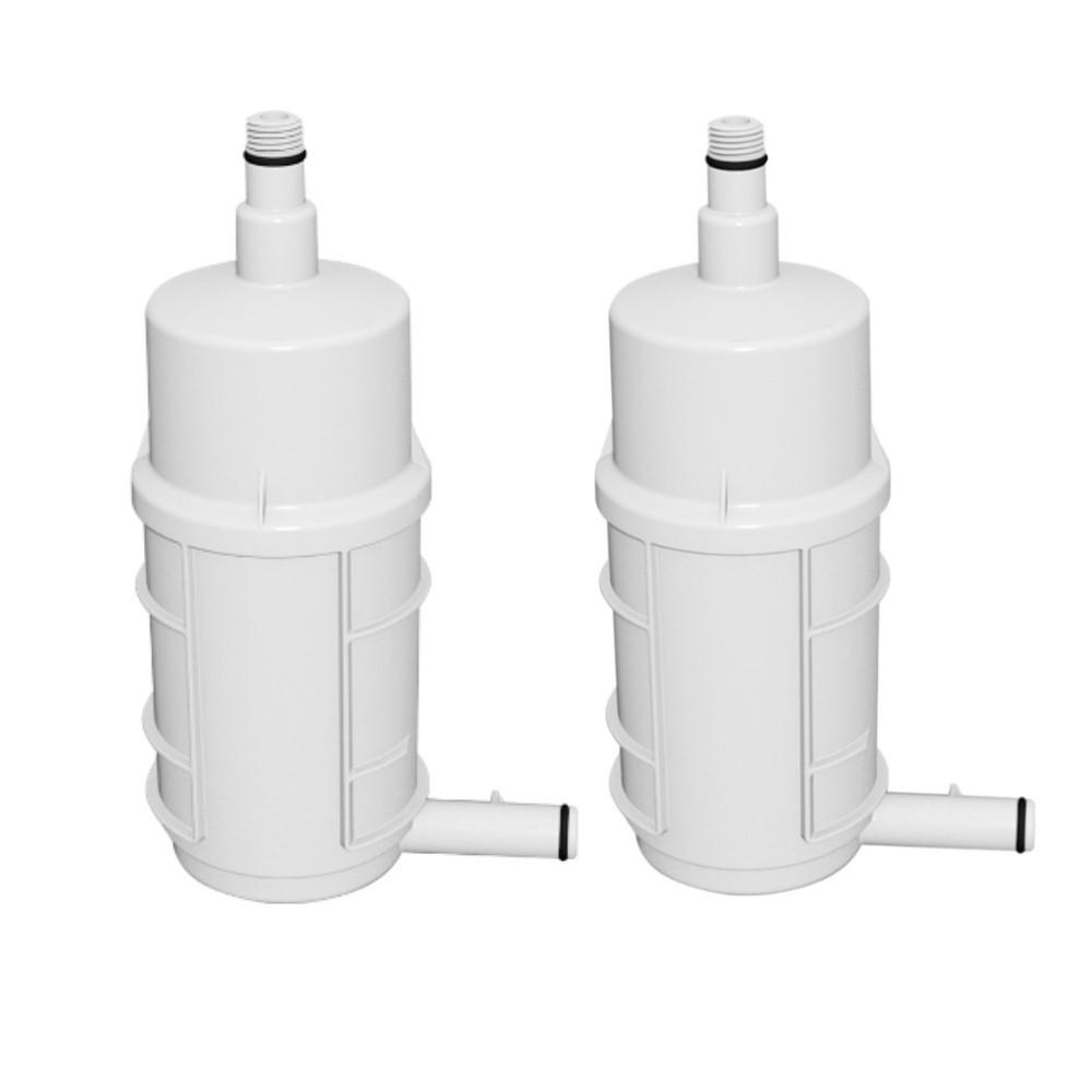 Kit 2 Refil Filtro de Purificação Compacta para Purificador de água Lorenzetti Gioviale RPC-01 Original