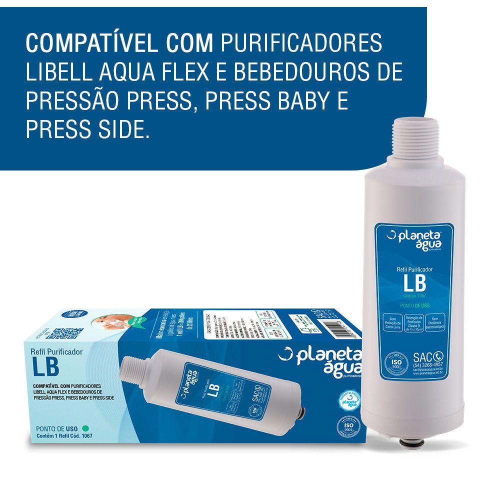 KIT 2 Refil LB para purificador Libell Acquaflex