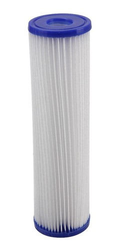 Kit 2 Refil Para Filtro Agua 9 3/4 Plissado Lavavel R30 Pl10 Filtro Caixa D