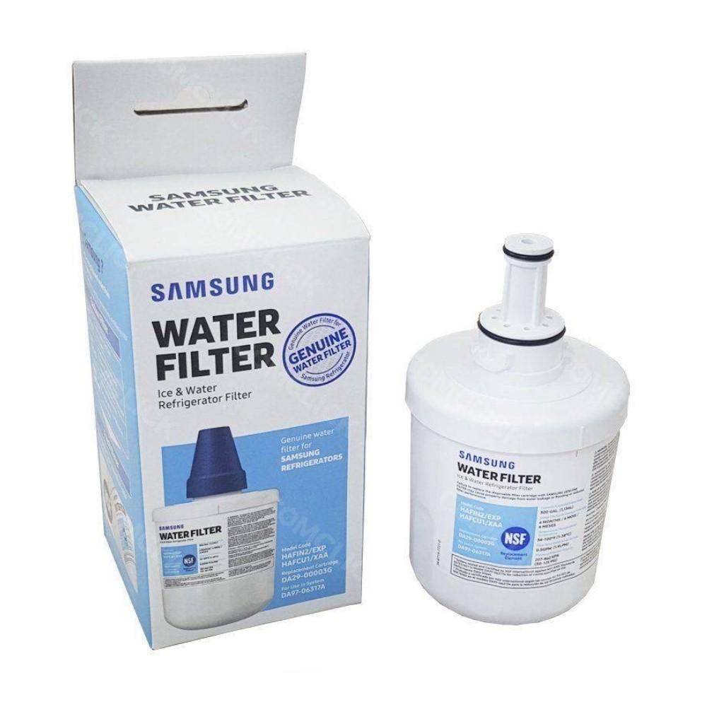Kit 2 unidades Filtro Interno Geladeira Refrigerador Samsung Side-by-Side Aqua-pure Plus Hafin2/Exp Hafin2 Original