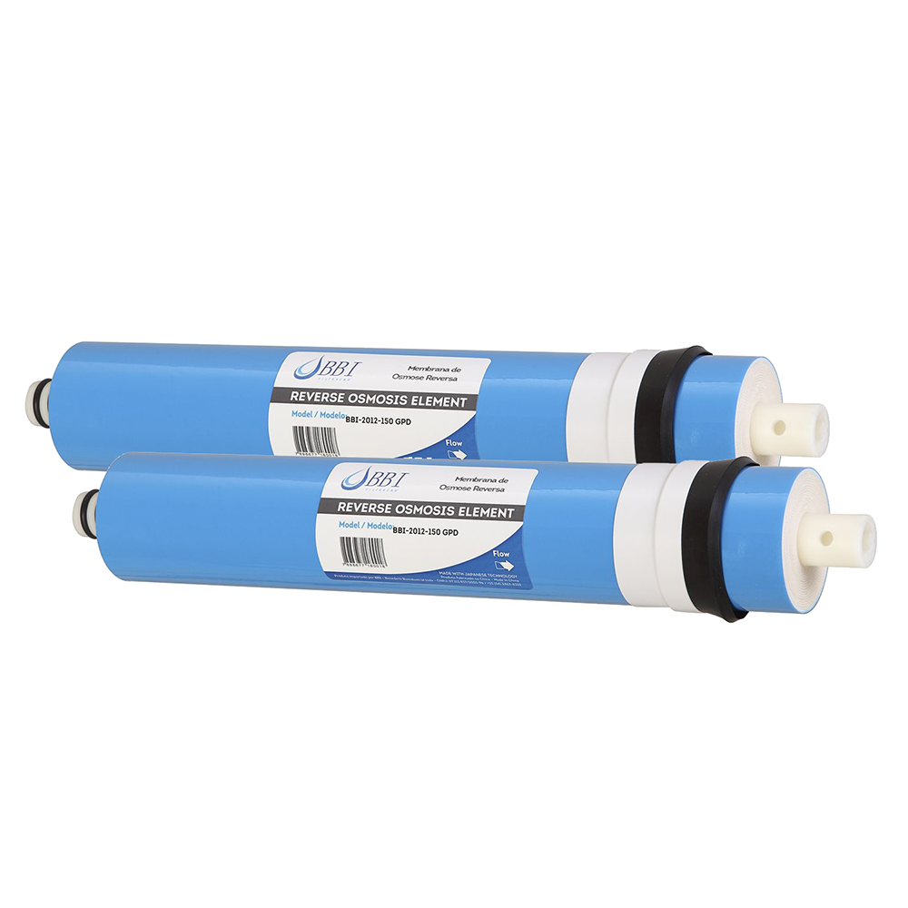 Kit 2 unidades Membrana de Osmose Reversa BBI 150 GPD 2012