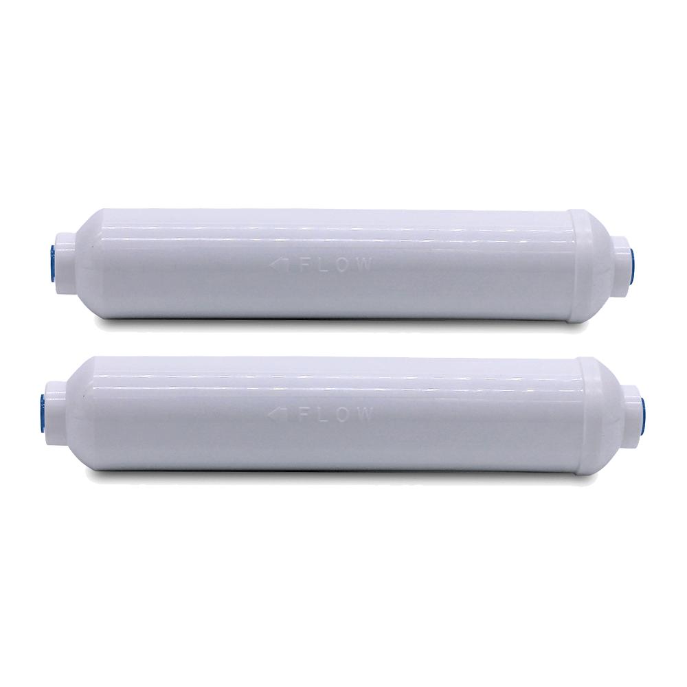 Kit 2 unidades Refil Filtro Externo BBI T33 Hidronix para Geladeira Refrigerador Side By Side Electrolux Samsung Lg Ge Brastemp