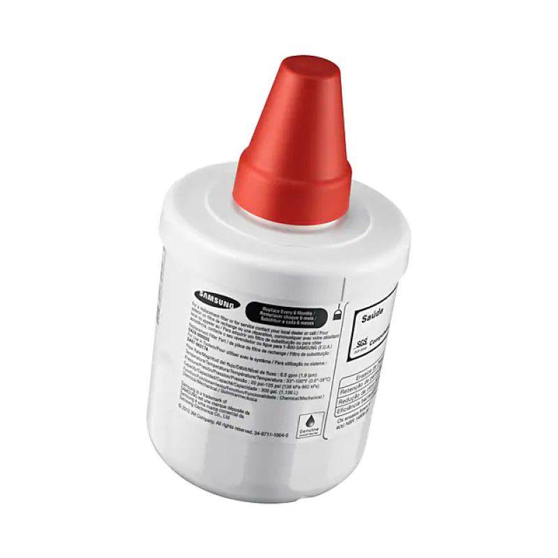 Kit 2x Filtro Interno Geladeira Refrigerador Samsung Aqua-pure Plus Hafin2/exp Hafin2 Da29-00003g Da29-00003b Original  - SUPERFILTER