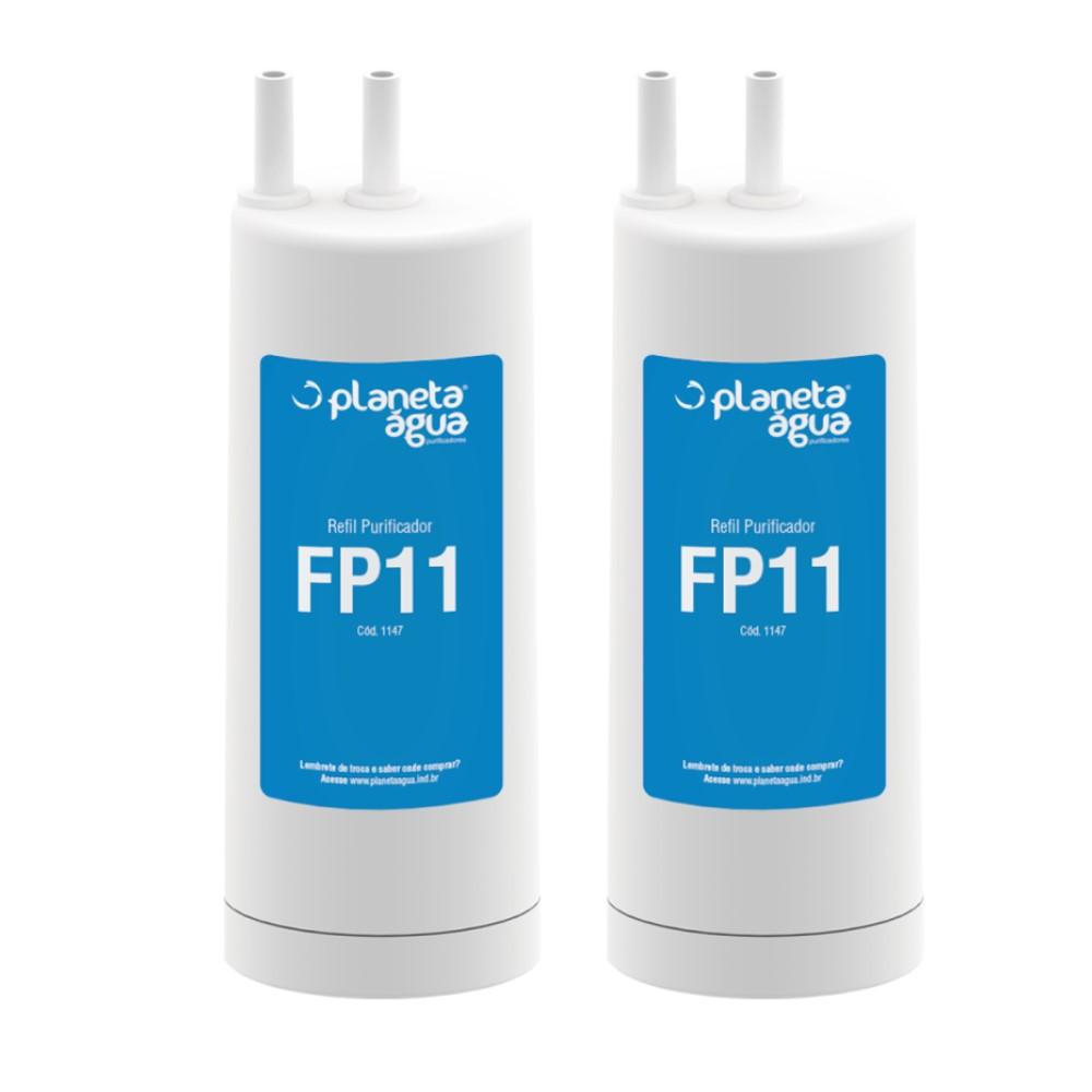 Kit 2 Refil Filtro FP11 Compatível Com Purificador Cadence Aquapure PRA100