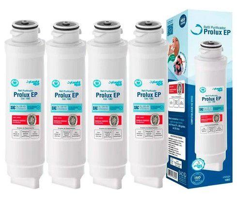 Kit 4 Refil Filtro Purificador De Água Pappca20 Prolux Ep Para Electrolux Pe10b E Pe10x - 1082 Certificado Inmetro  - SUPERFILTER