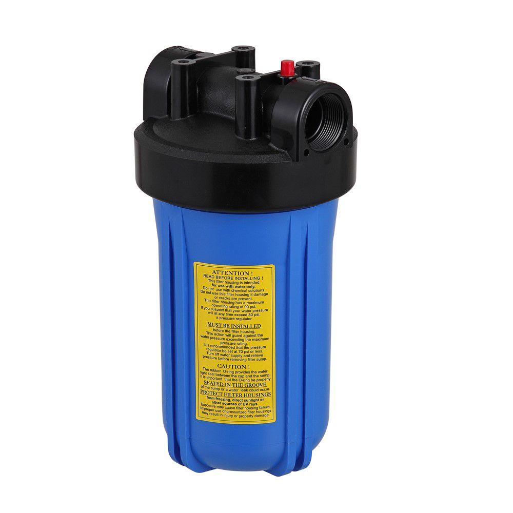 Kit Carcaça Filtro BIG Blue BBI 10 x 4,5 com chave e suporte  - SUPERFILTER