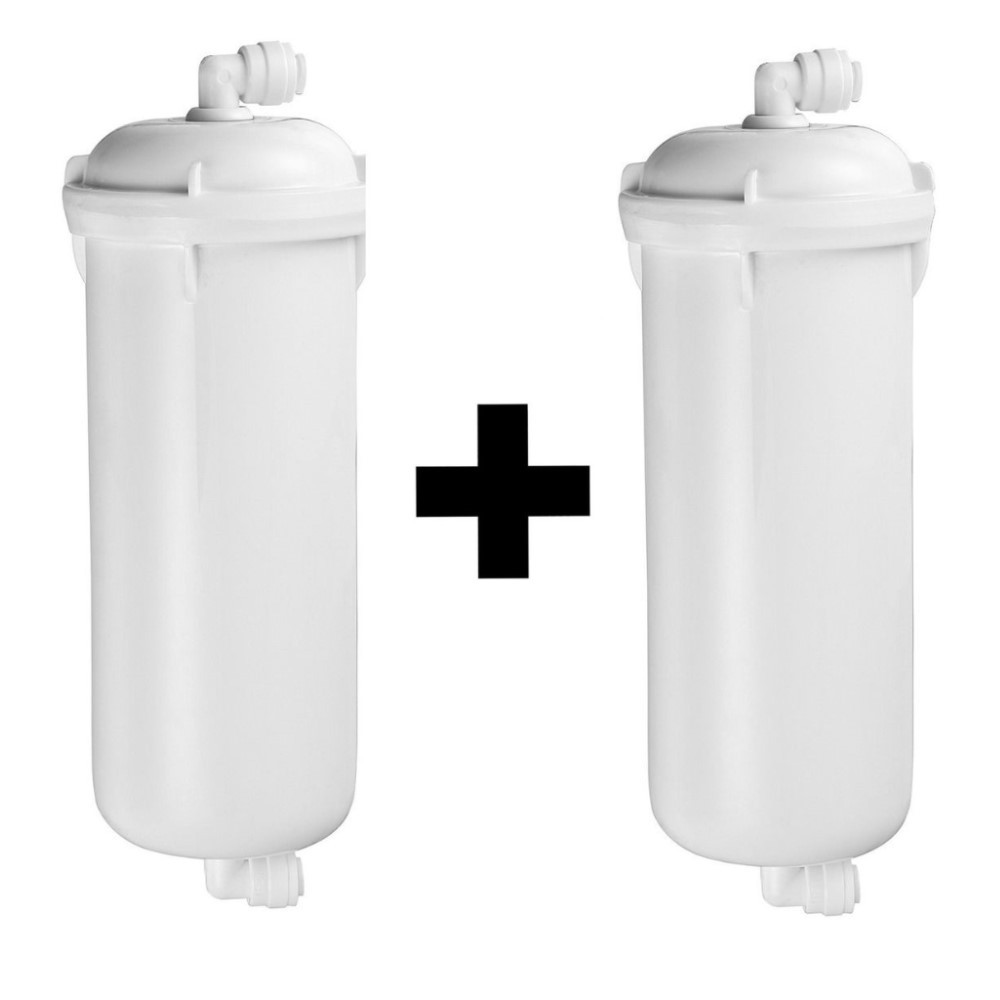 Kit Jogo De Refil Filtro Para Purificador Hoken Hk1000 Pentair As10 Pre + Carvão Par Bbi