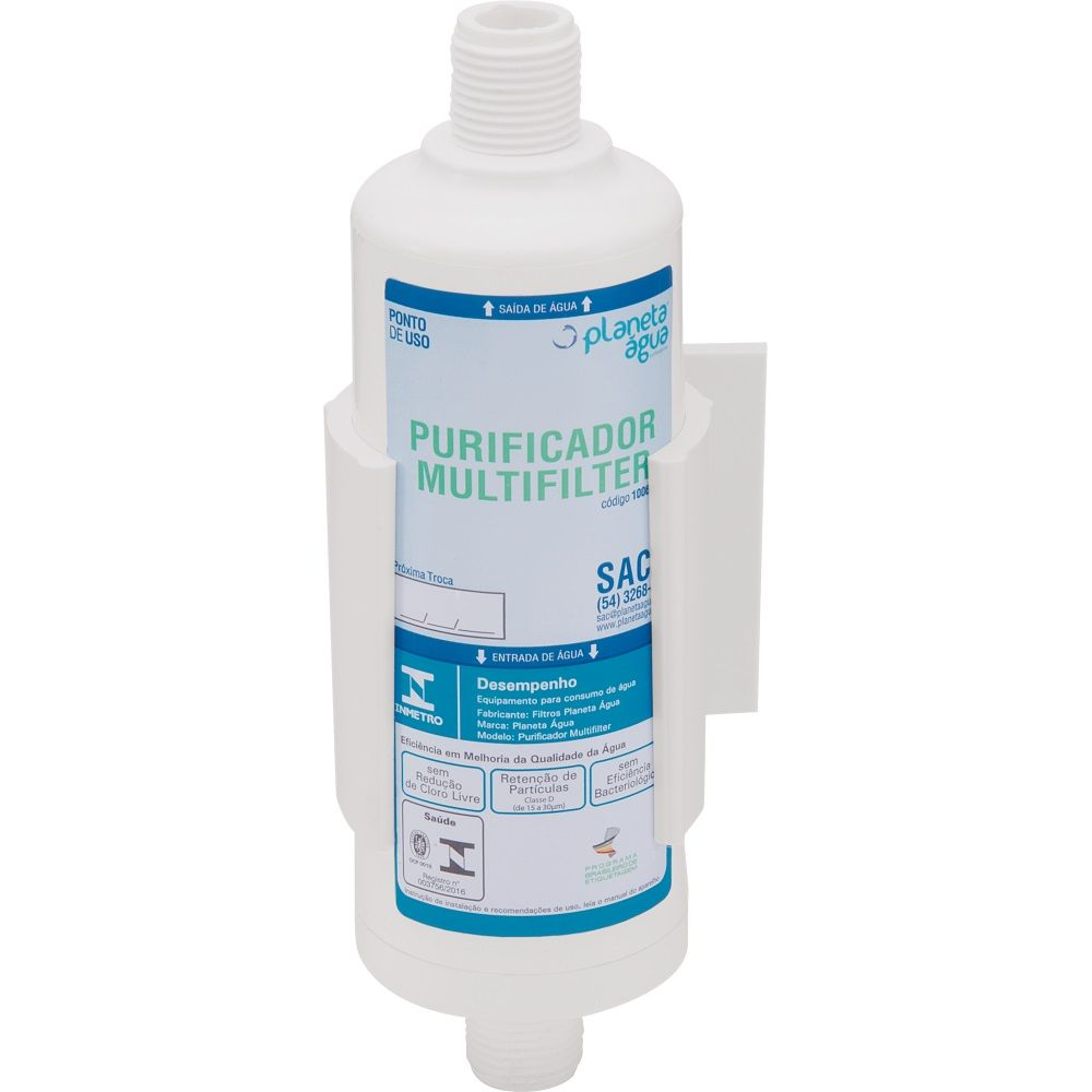 Purificador de Agua 1/2 Multifilter Planeta Agua