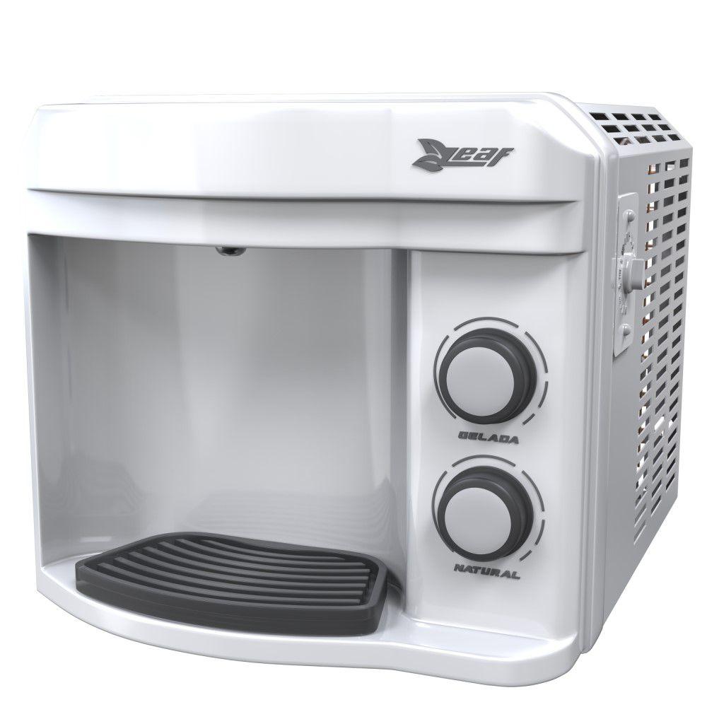 Purificador de água gelada Leaf Pury Compact Branco - Refrigerador por compressor