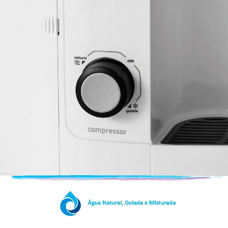Purificador de Agua Gelada Refrigerado IBBL Evolux Branco