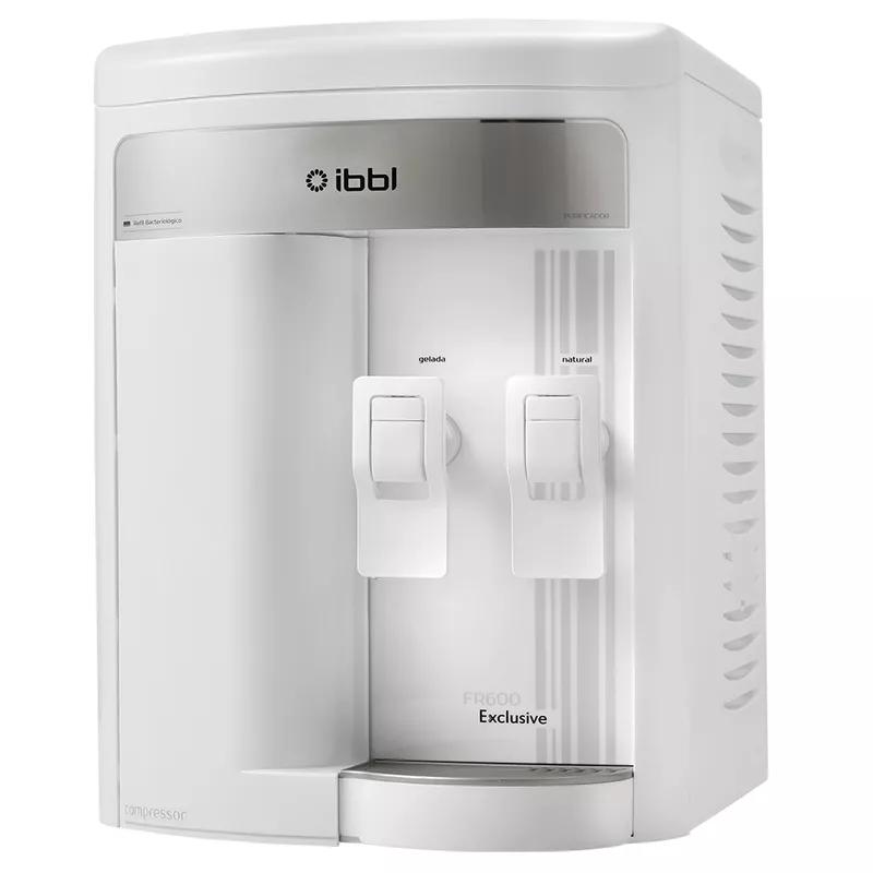 Purificador de Agua Gelada Refrigerado IBBL FR600 Exclusive Branco + Refil extra  - SUPERFILTER