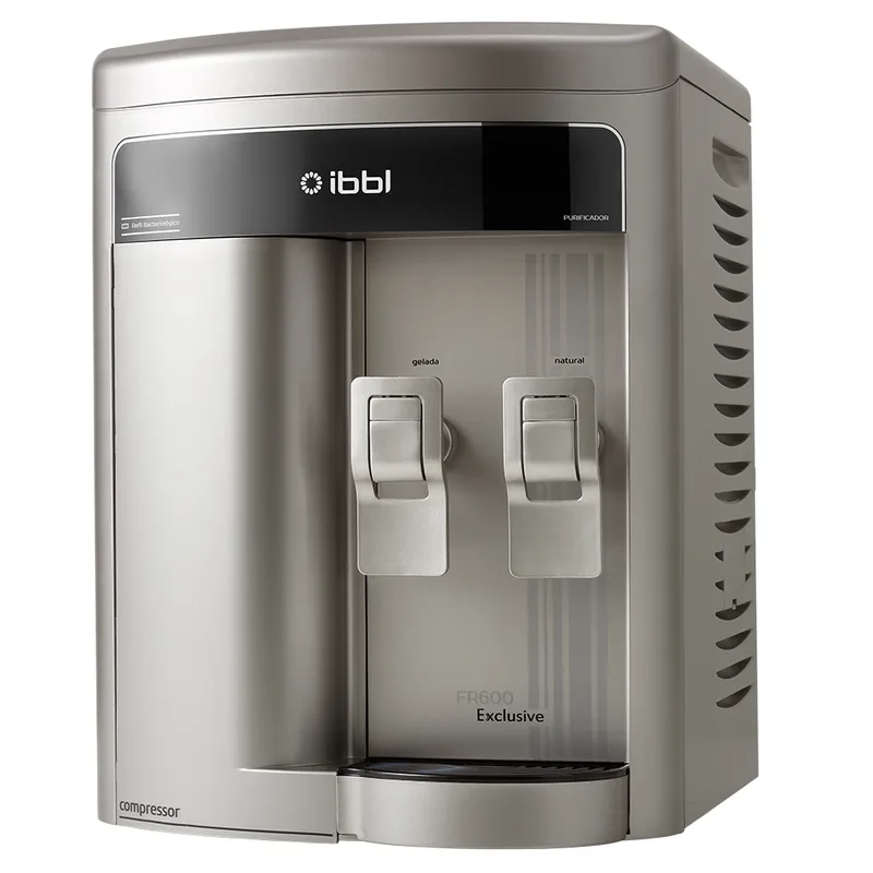 Purificador de Agua Gelada Refrigerado IBBL FR600 Exclusive Prata