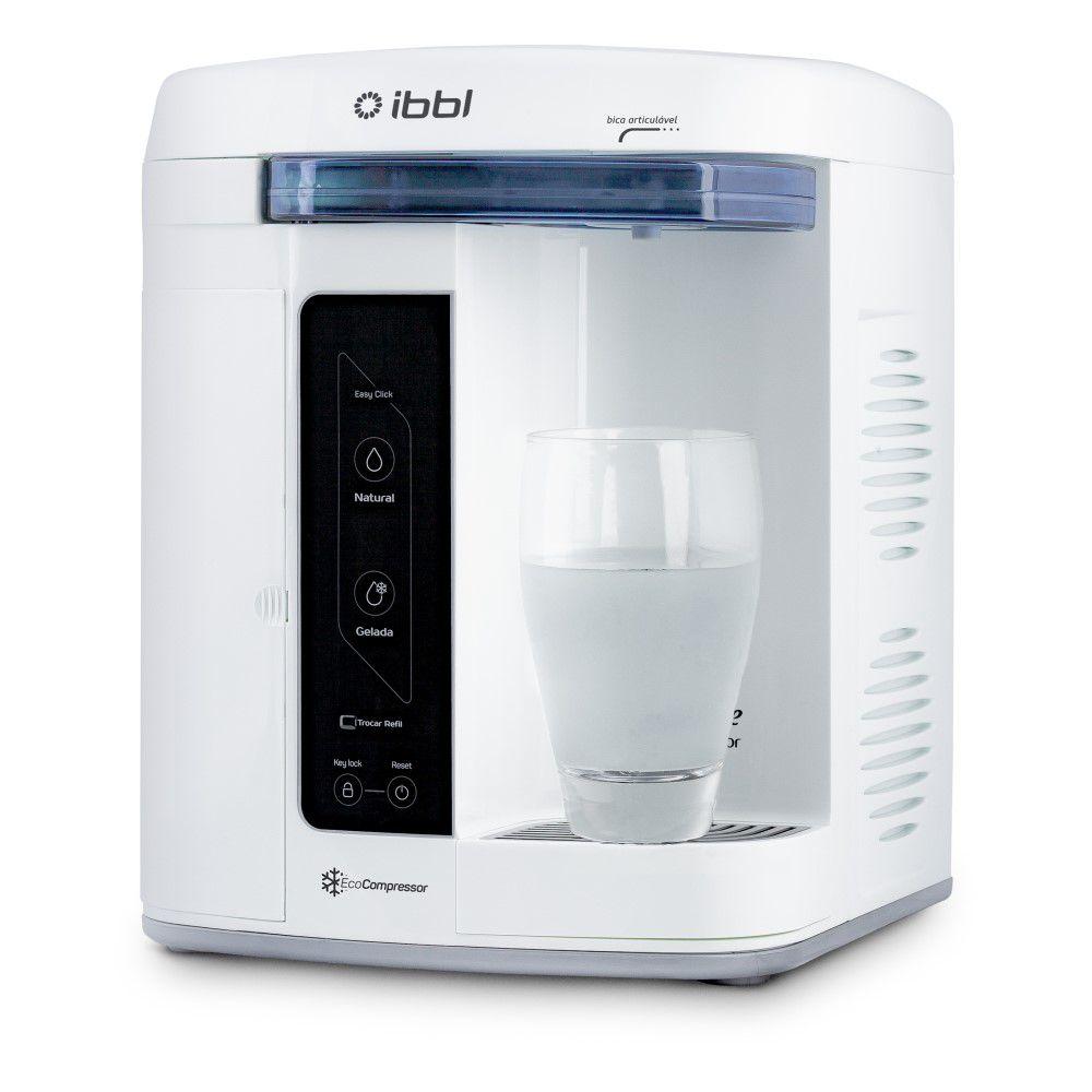 Purificador de Agua Gelada Refrigerado IBBL Innovare Branco 220v + Refil Extra  - SUPERFILTER