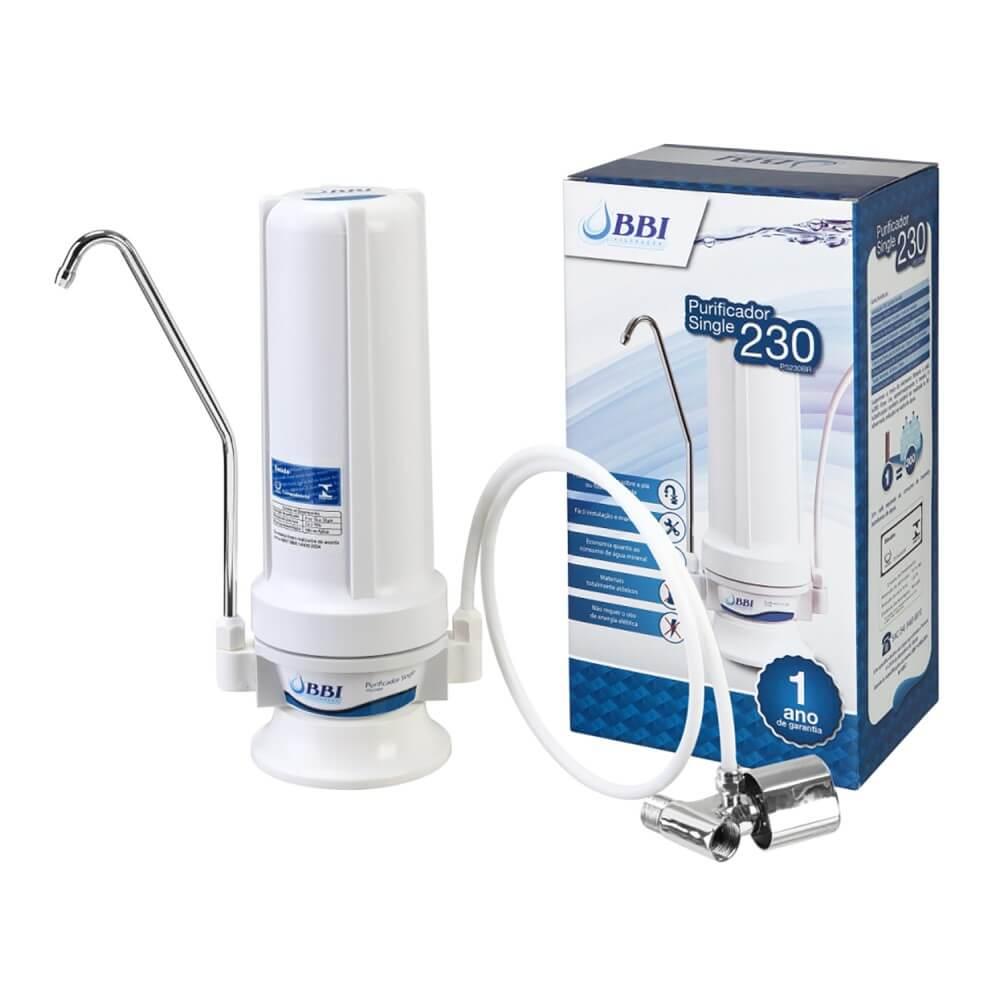 Purificador Filtro de Água BBI Single 230 - PS230BR Branco