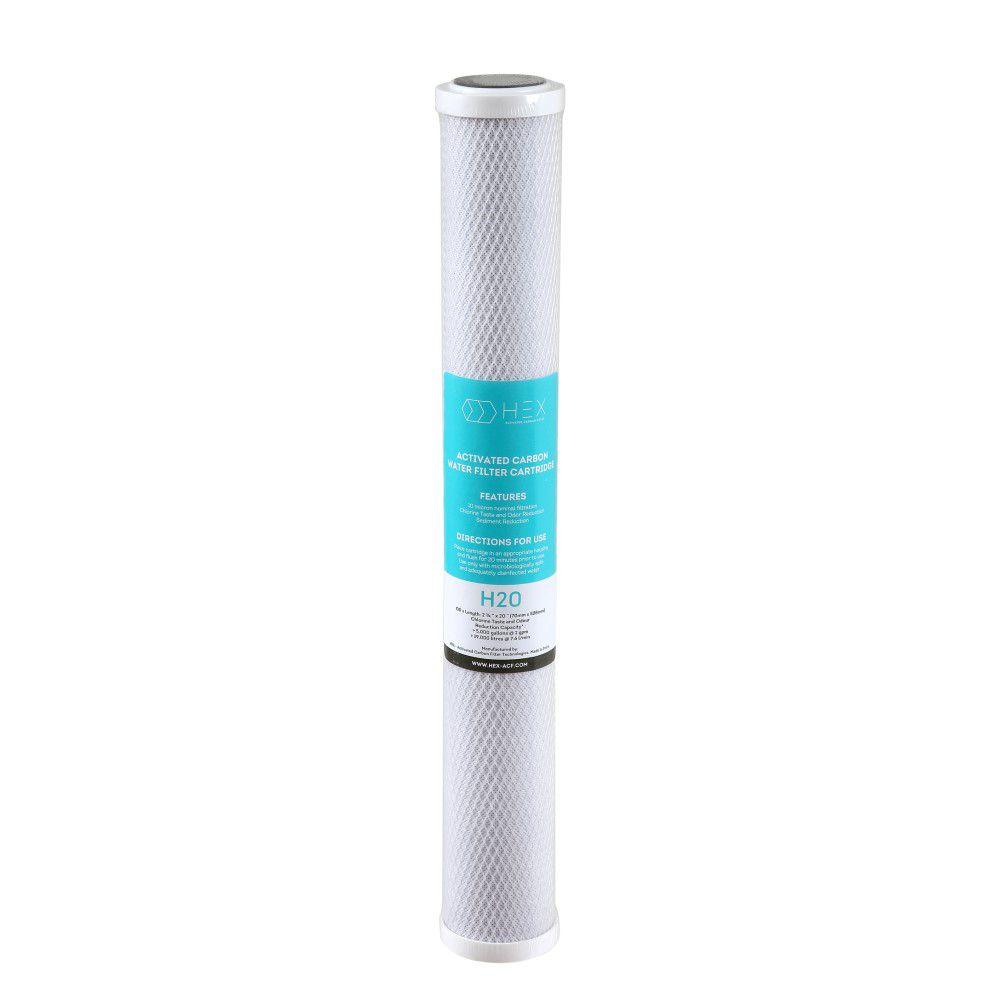 Refil Filtro Carbon Block 20