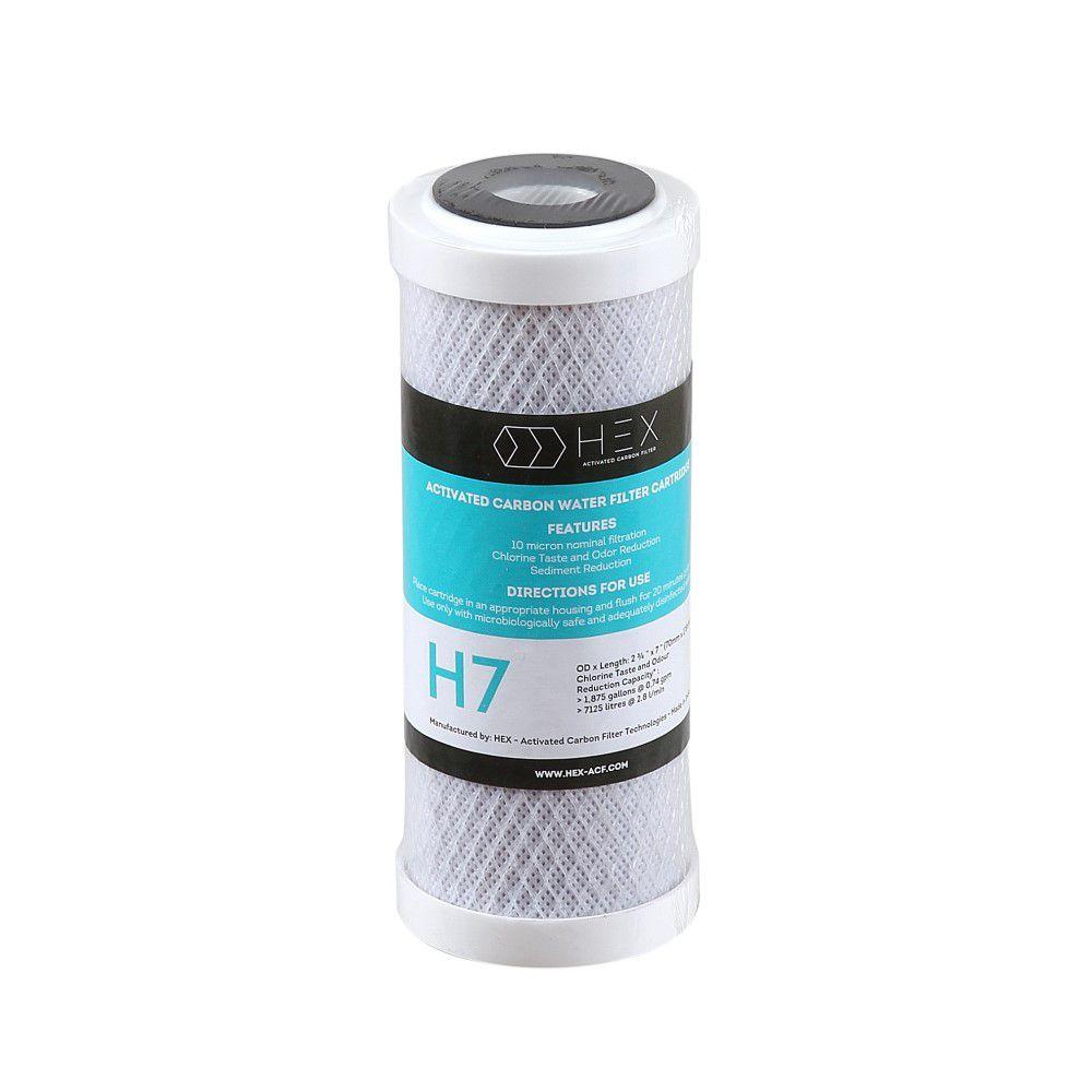Refil Filtro Carbon Block 7