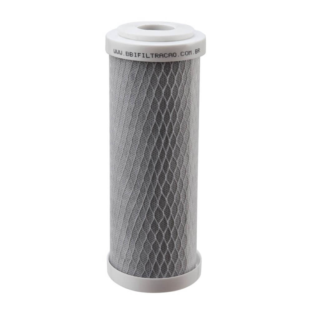 "Refil Filtro Carbon Block BBI 7"" x 2,5'' E200/5 Encaixe"