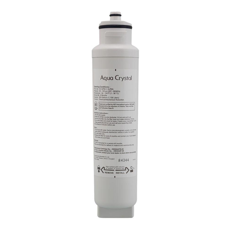 Refil Filtro de Água Geladeira Refrigerador Electrolux French Door Frost Free FD90X FDI90   - SUPERFILTER