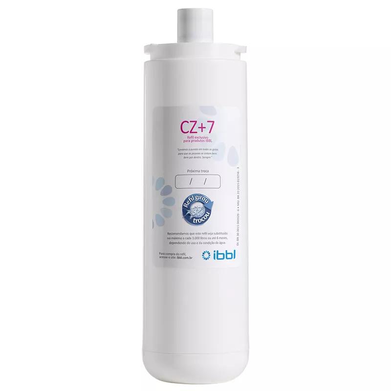 Refil Filtro IBBL CZ+7 Original para Purificador de Água IBBL FR600, Expert, Exclusive Evolux e outros