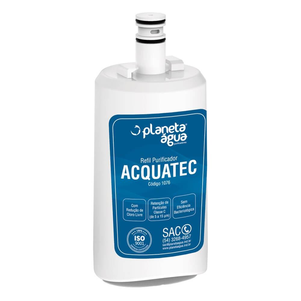 Refil Filtro Planeta Água Acquatec compatível com Purificador de Água Esmaltec Purágua Acqua 7