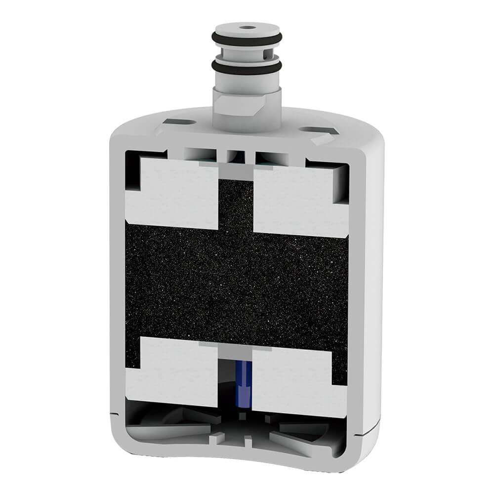 Refil Filtro Planeta Água compatível com Geladeira Refrigerador LG LT500P