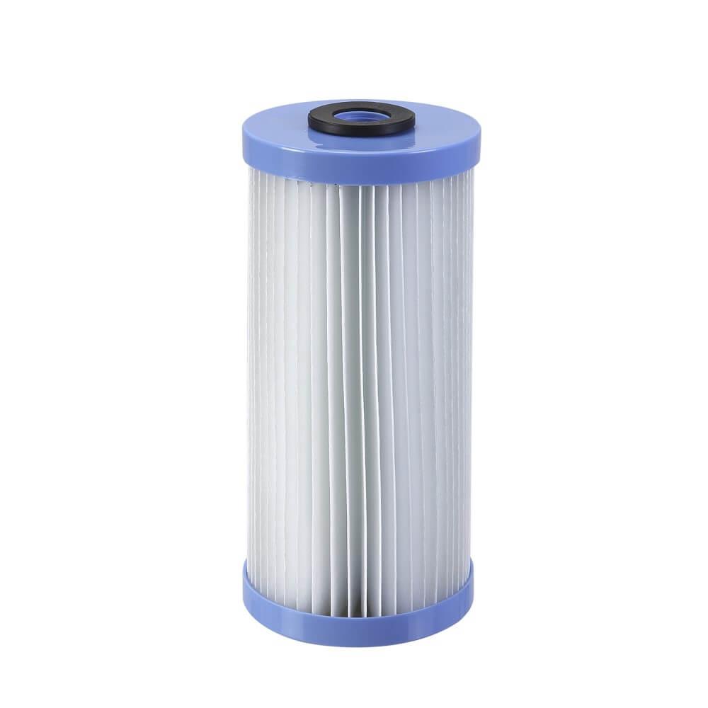 "Refil Filtro Plissado de Poliéster Pentek Pentair Big Blue Lavável 10"" x 4,5 R30BB"