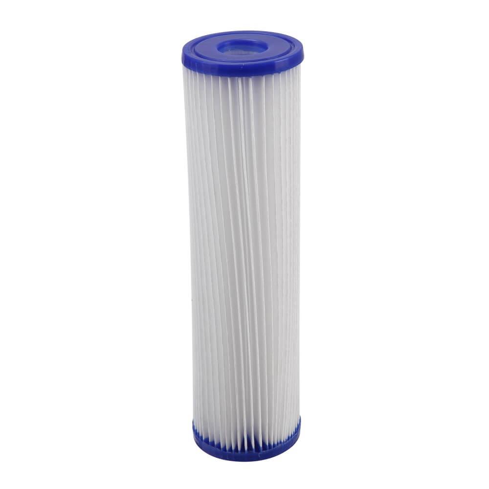 "Refil Filtro Plissado de Poliester Pentek Pentair Lavavel 9.3/4"" x 2,5"" R30"