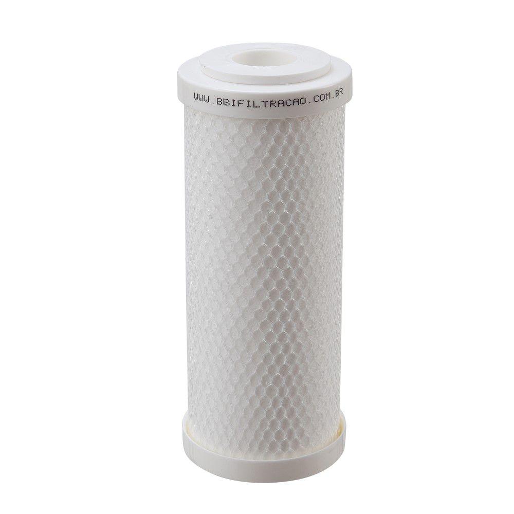 """Refil Filtro Polipropileno BBI 7"""" x 2,5'' PP7E Encaixe"""
