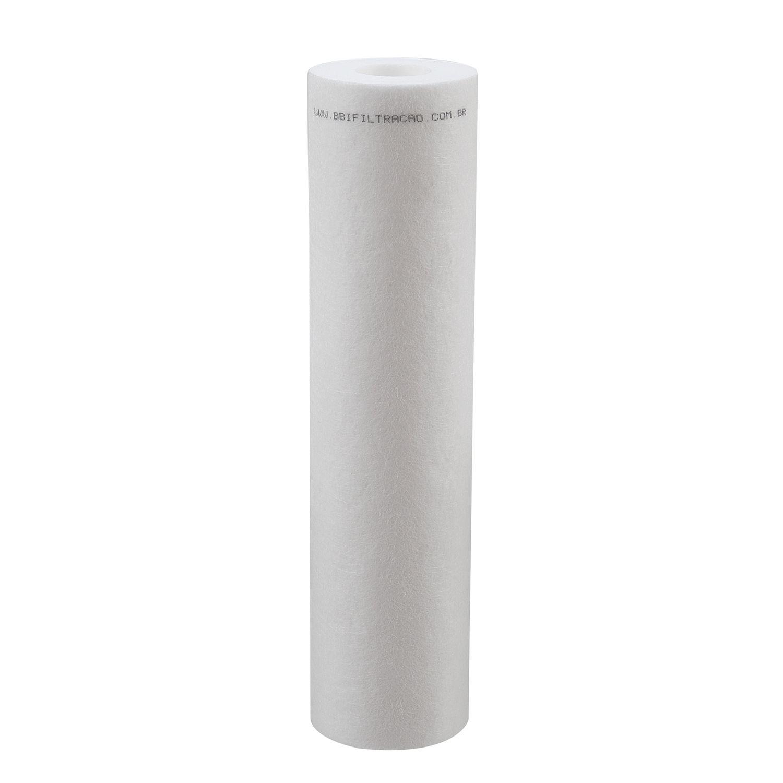 """Refil Filtro Polipropileno BBI 9""""3/4 PP10/0,5 - 0,5 micra"""
