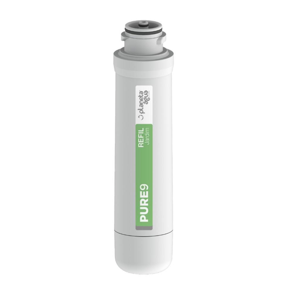 Refil Filtro Purificador de água Planeta água Pure9 Jardim