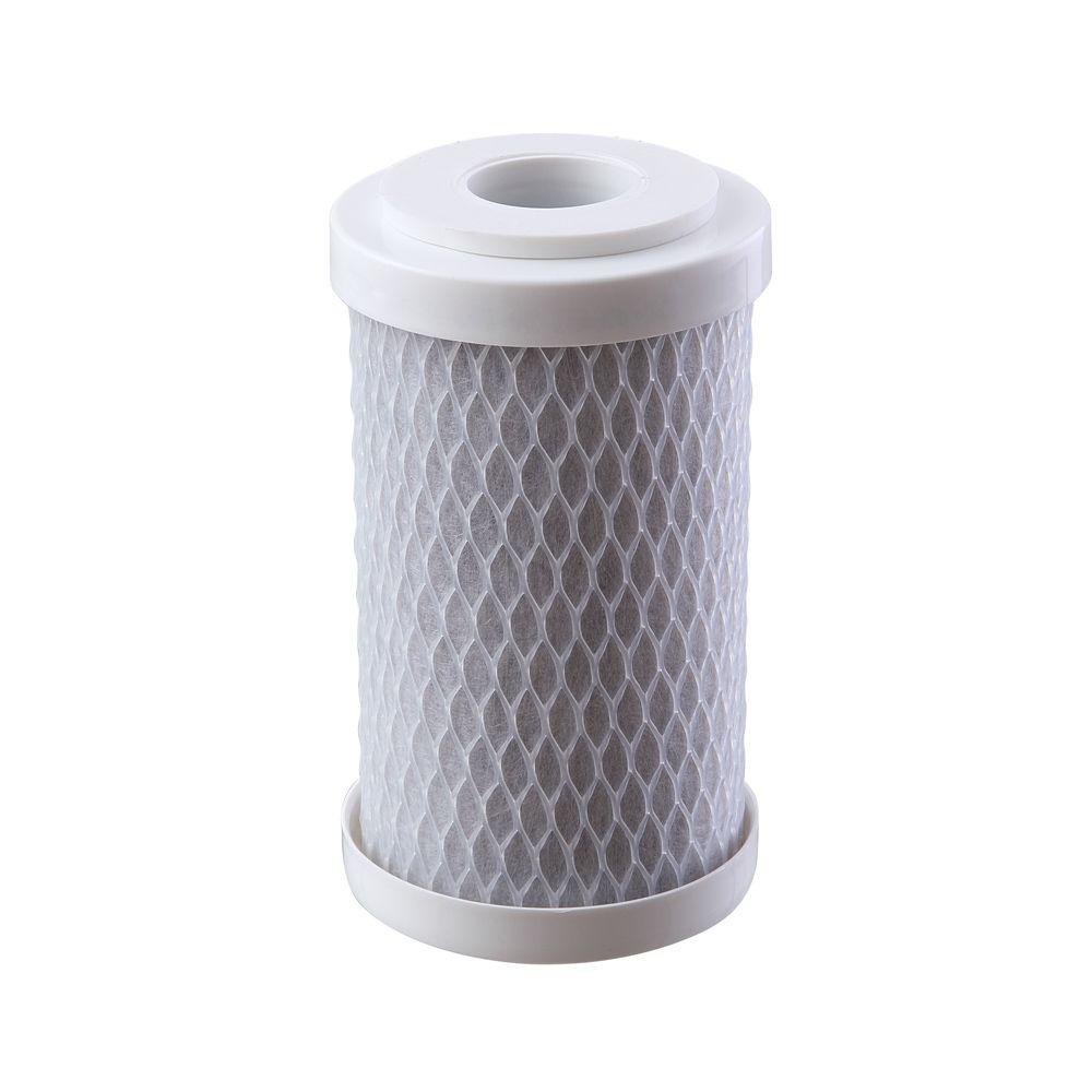 Refil Carbon Block BBI para Filtro Shower 125 BR e 125 TR REP-SHOWER  - SUPERFILTER