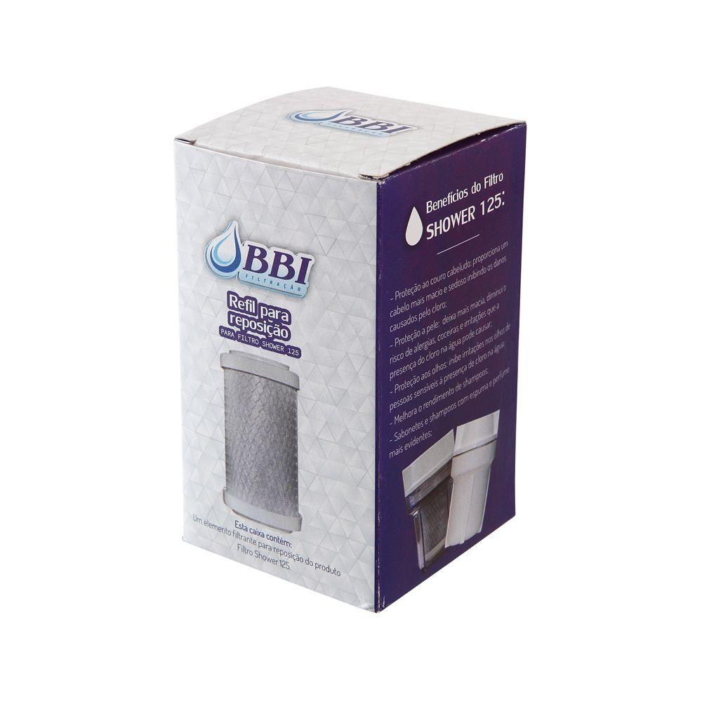 Refil para filtro de chuveiro SHOWER125 - REP-SHOWER  - SUPERFILTER