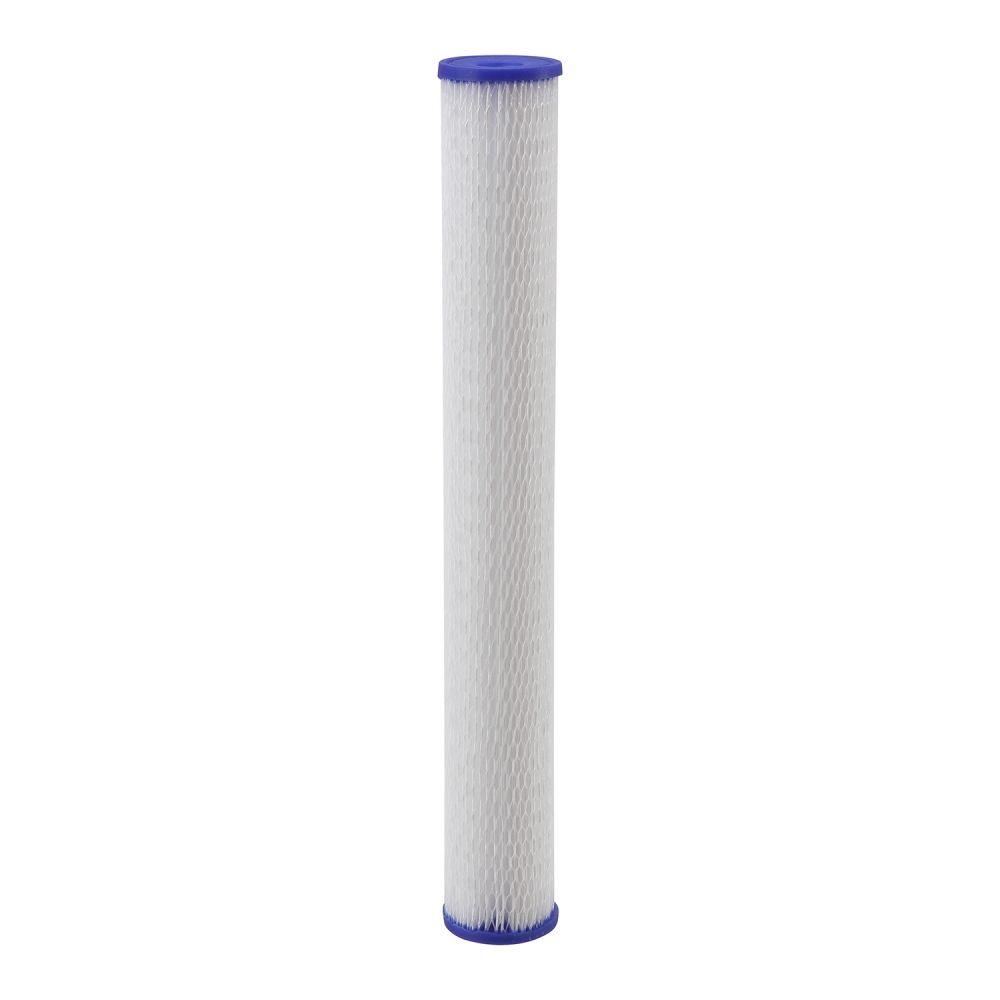 Refil Filtro Plissado de Poliéster Pentek Pentair Slim Lavável 20 x 2.1/2 R30-20