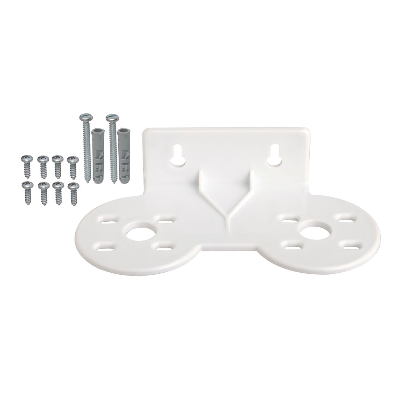 Suporte Duplo BBI Plástico ABS com kit de parafusos para Filtros de água 5, 7 e 9.3/4?