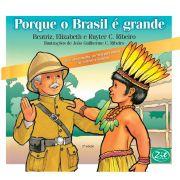 Porque o Brasil é grande