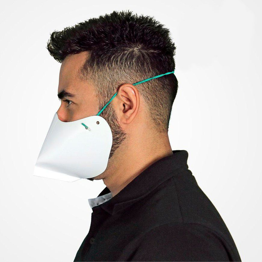 Máscara reutilizável em Papel Especial 20 Unidades