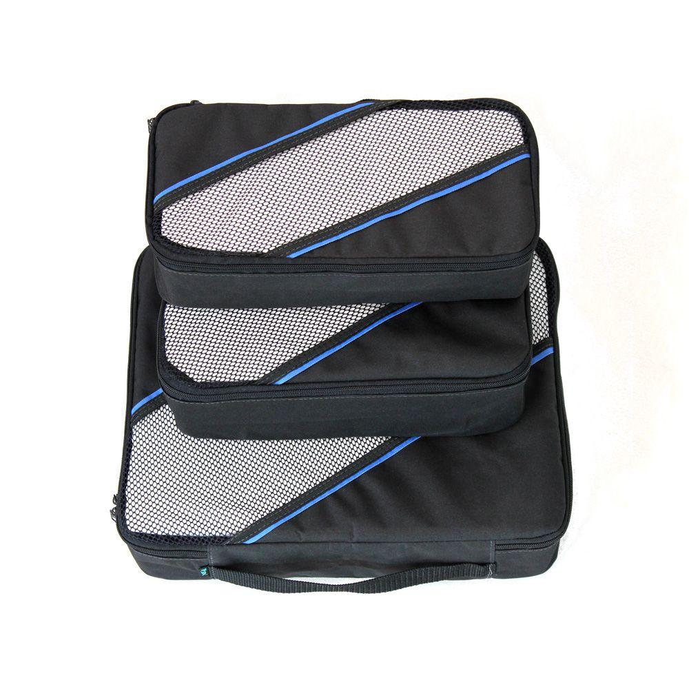 Organizador de Mala - Kit 3 + Bag