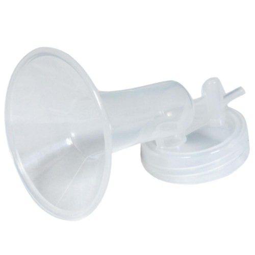 Bomba tira leite elétrico 110 V - Verde com Kit Copo dosador 80 ml (com 04 unid.) Verde Matern Milk