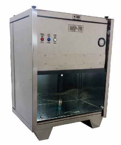 Câmara ASSÉPTICA para manuseio de LHO - Modelo CAP-75 -  Matern Milk