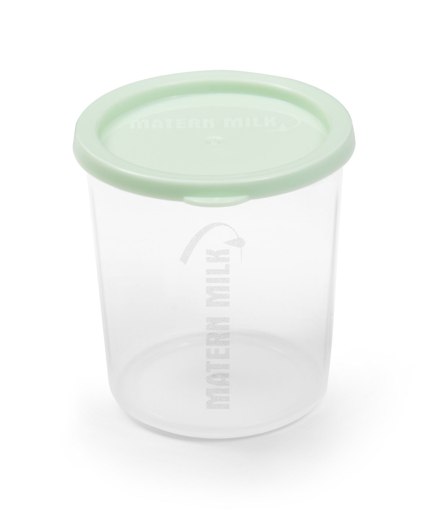 Copo de Aleitamento Materno Verde, 60 ml, (kit com 100 unid. a granel). polipropileno atóxico,graduação de 10 em 10 ml  Matern Milk.