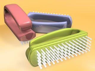 Escova para higiene das mãos e mamas -  Matern Milk