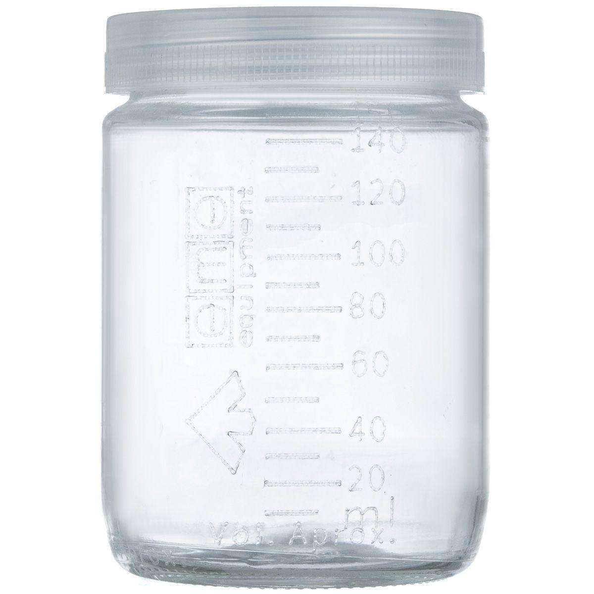 Frasco Graduado Matern Milk - 150 ml - Vidro