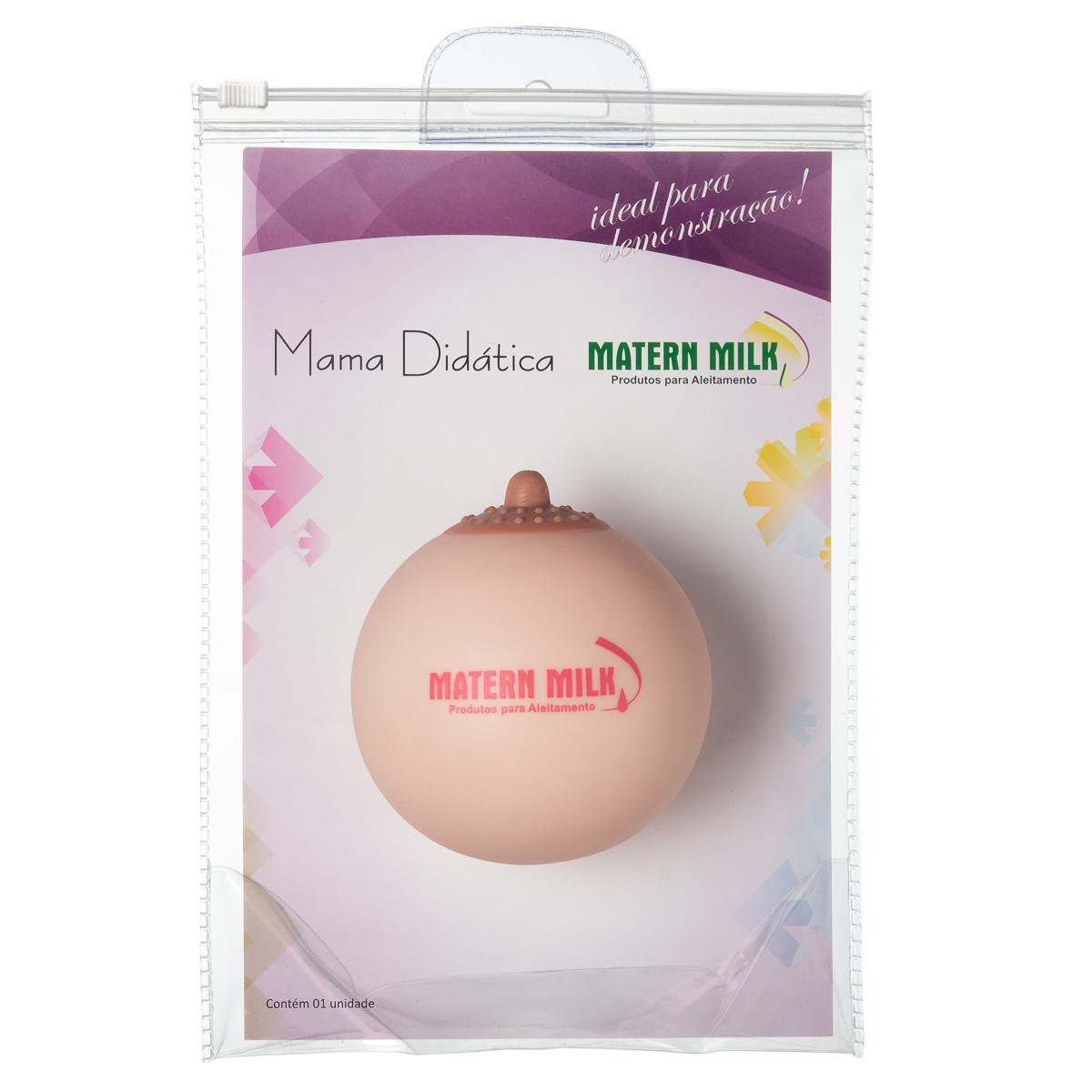 Mamas Didática Matern Milk - Com 3 unid.